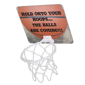 Hold Onto Your Hoops Basketball Hoop