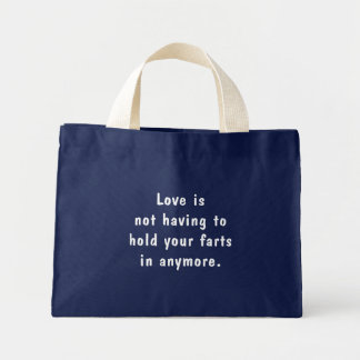 Hold Your Farts Mini Tote Bag