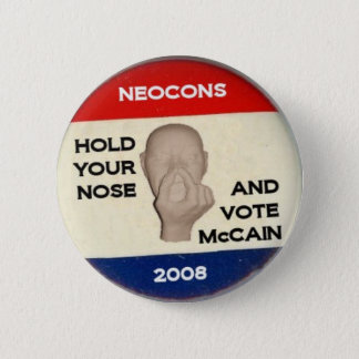 Hold Your Nose And Vote 2 Inch Round Button