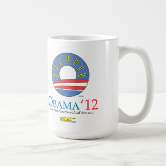 Hold Your Nose and Vote Obama 2012 Coffee Mug
