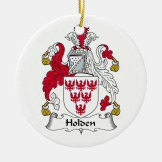 Holden Family Crest Ceramic Ornament