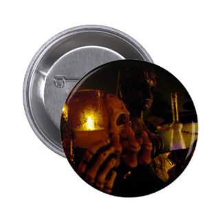 Holding Fire 2 Inch Round Button