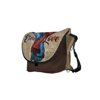Holding Hands,Eternal Love,Space Dictionary Art Commuter Bag