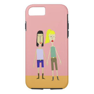 Holding Hands iPhone 7 Case