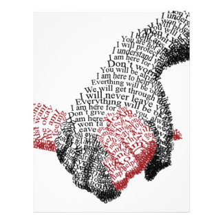 Holding Hands, Love conquers all Letterhead