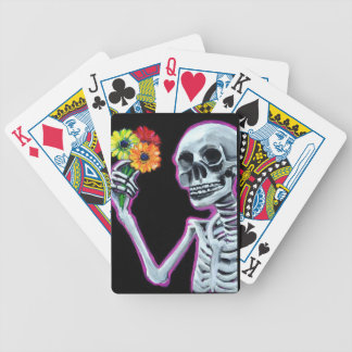 Holding On Bicycle Playing Cards