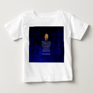 Holding On To Anger Inspirational Buddha Quote Baby T-Shirt