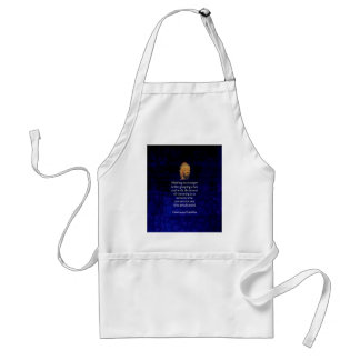 Holding On To Anger Inspirational Buddha Quote Standard Apron