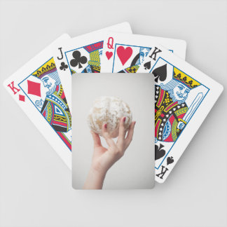 Holding Pomelo Bicycle Playing Cards
