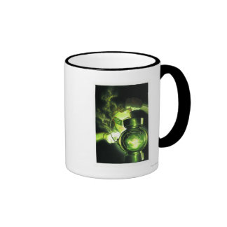 Holding the Green Lantern Mug