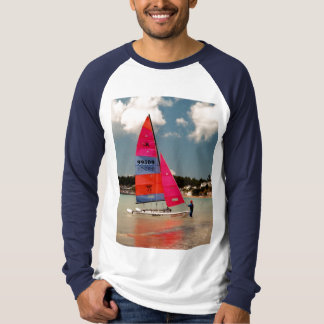 Holding the Hobie steady T-Shirt