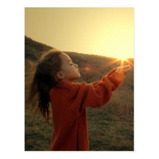 Holding the Sun Postcard