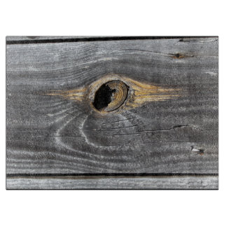 hole in a fence boards