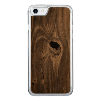 hole in fence carved iPhone 7 case