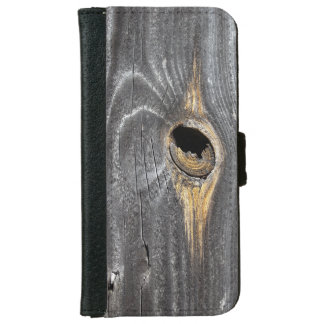 hole in fence iPhone 6 wallet case