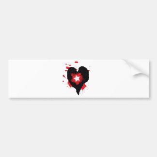 hole in heart.png bumper sticker