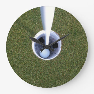 Hole-In-One Clock