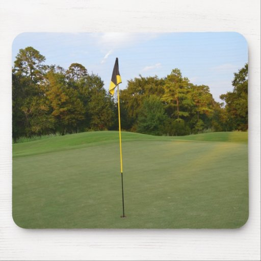 Hole in One Mouse Pad
