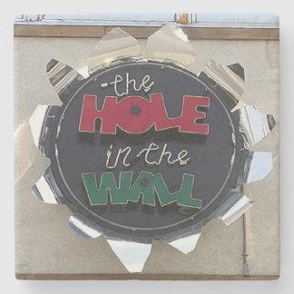 Hole In The Wall, Buckhead Atlanta Marble Coaster Stone Beverage Coaster