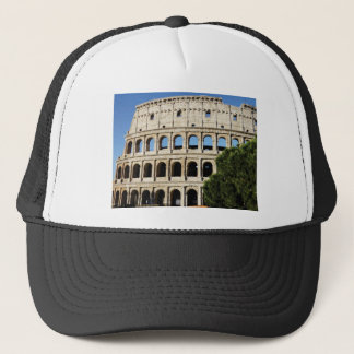 holes and arches trucker hat