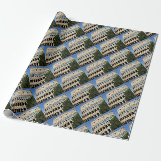 holes and arches wrapping paper