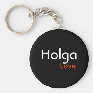 Holga love keychain