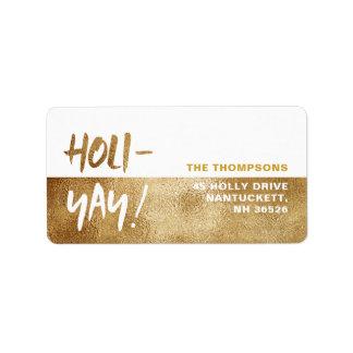 HOLI-YAY! Fun Typography Holiday