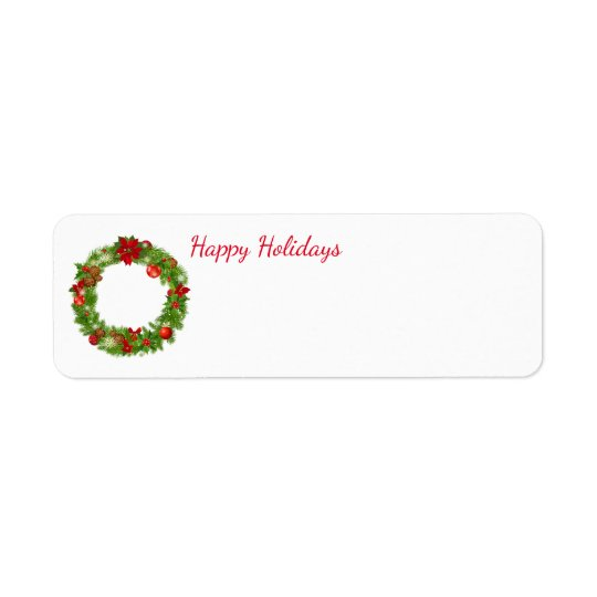 Holiday Address Labels