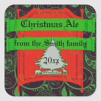 Holiday Ale, Beer and Brew Labels