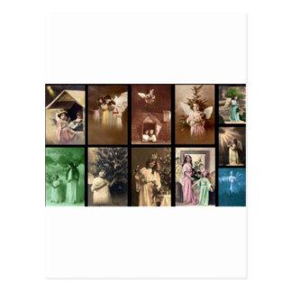 Holiday Angels I Customizable Postcard