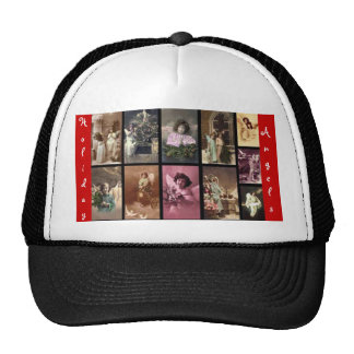 Holiday Angels Red Hat II Customizable