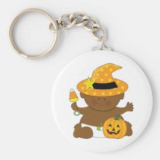 Holiday Baby Basic Round Button Keychain