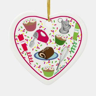 Holiday Baking Heart Ornament