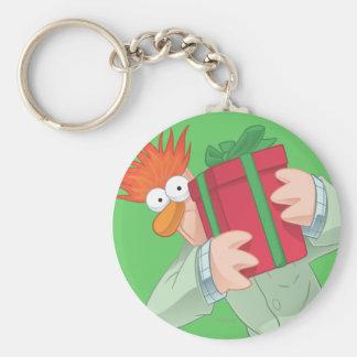 Holiday Beaker Keychain