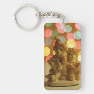Holiday Bears Keychain