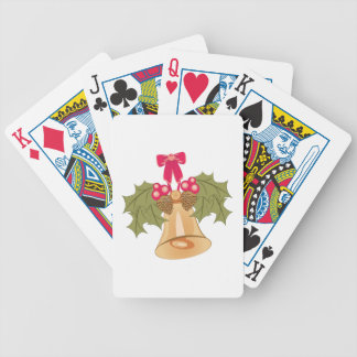 Holiday Bell Poker Deck