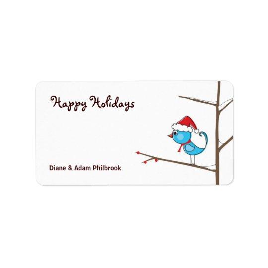 Holiday Bird Gift Tags
