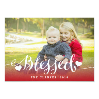 Holiday Blessings | Holiday Photo Card