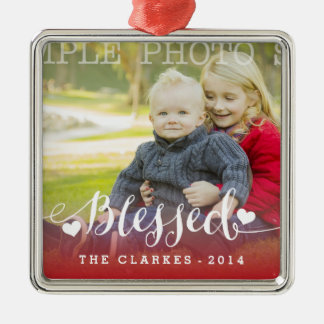 Holiday Blessings | Holiday Photo Ornament