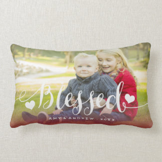 Holiday Blessings | Holiday Photo Pillow