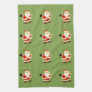 Holiday Bowl Kitchen Towel