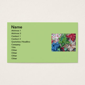 Holiday Bows Business Card