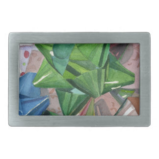 Holiday Bows Rectangular Belt Buckle