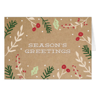 HOLIDAY BRANCHES | HOLIDAY GREETING CARD