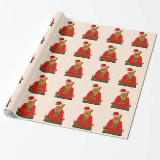holiday buddha wrapping paper