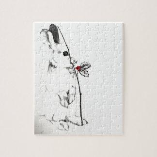 Holiday Bunny Jigsaw Puzzle