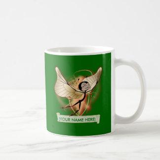 Holiday butterfairy classic white coffee mug