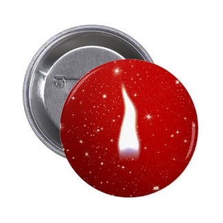 Holiday Candle Flame Pin