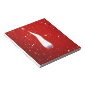 Holiday Candle Flame Memo Note Pad