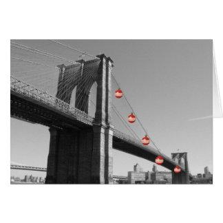 Holiday Card - Brooklyn Bridge DISCOUNT
